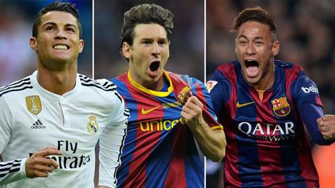 Ronaldo, Messi hay Neymar đều đứng sau một kẻ lạ hoắc ở thời điểm này