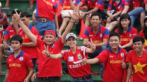 B.BD gia hạn CĐV đăng ký đi Đồng Tháp, chứng kiến lễ đăng quang V.League 2015