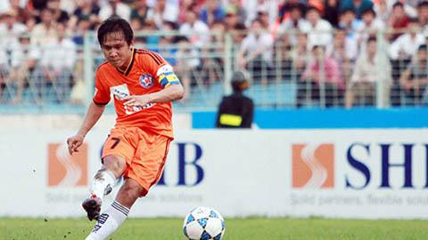 Minh Phương (SHB.ĐN) chia tay sự nghiệp cầu thủ ở vòng 26 V.League 2015