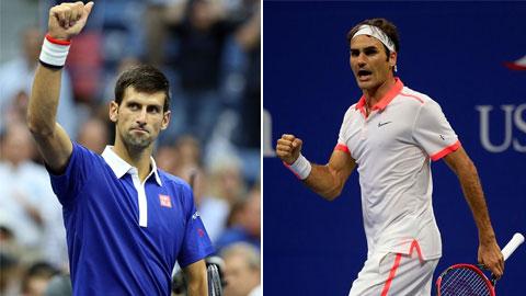 Federer vs Djokovic: Nhà Vua đang trở lại