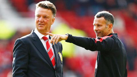 Van Gaal kỳ vọng Giggs sẽ dẫn dắt M.U
