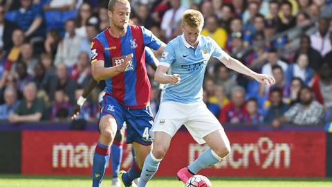 De Bruyne chào Man City bằng màn trình diễn điểm khá