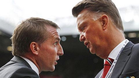Van Gaal ấn tượng với màn ra mắt của Martial, Rodgers đổ lỗi trọng tài