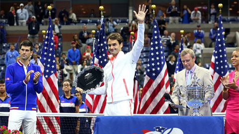Federer hẹn sang năm sẽ trở lại US Open