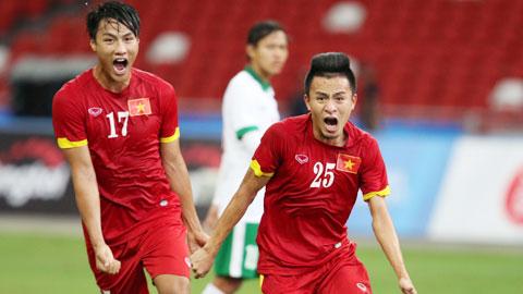 VCK U23 châu Á 2016: U23 Việt Nam chơi trận ra quân ngày 14/1