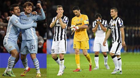 Man City vs Juventus: Tâm điểm vòng bảng Champions League lượt đầu