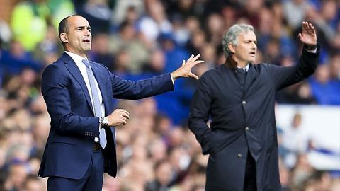 Cay cú sau thất bại, Mourinho văng bậy với Martinez