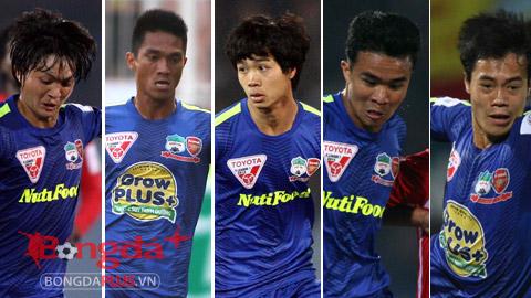 5 cầu thủ quan trọng nhất của HA.GL tại V.League 2015