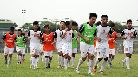 Vòng loại U16 châu Á 2016 - Bảng J: U16 Việt Nam sẵn sàng xung trận