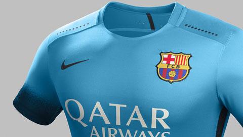 Barca ra mắt áo đấu mới ở trận ra quân tại Champions League 2015/16