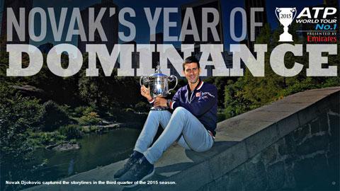 Djokovic: Novak King của năm 2015