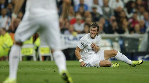 Bale bị thay ra sớm vì chấn thương trong trận gặp Shakhtar