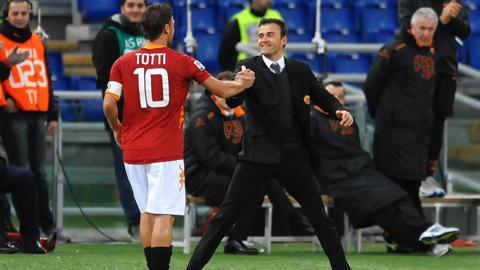 Luis Enrique tái ngộ AS Roma: Thành Rome vẫn thế, nhưng Enrique đã khác