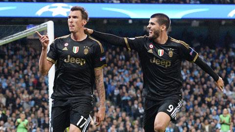 """Morata và Mandzukic: Bộ đôi """"bóng ma"""""""