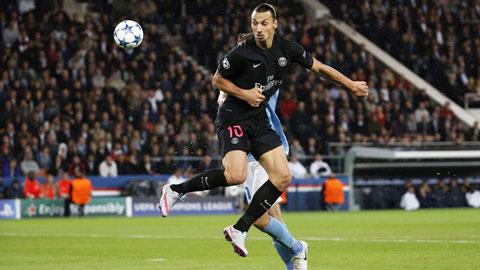 Ibra kém duyên ở vòng đầu Champions League