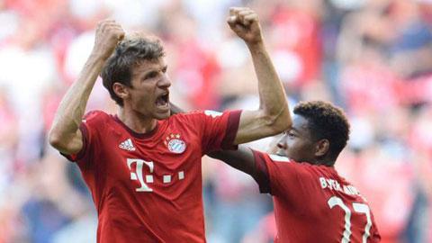 Ghi bàn ở Champions League, Thomas Mueller đi vào lịch sử