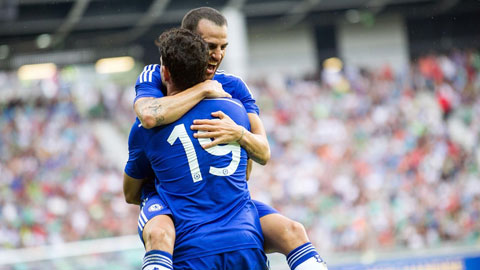 """Fabregas kiến tạo cho Costa ghi bàn: Sự trở lại của """"công thức C-C"""""""