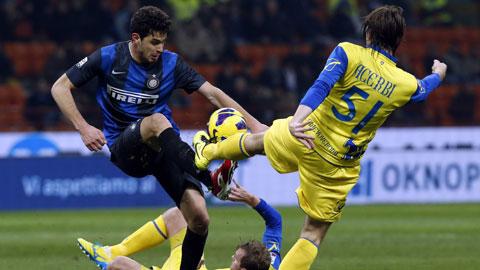"""Vòng 4 Serie A: Inter và điệp vụ """"Lừa bay"""""""