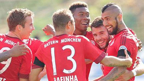 Darmstadt 0-3 Bayern: Dấu ấn Juve