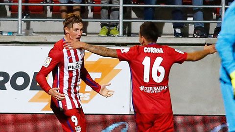 Vòng 4 La Liga: Atletico trở lại mạch thắng, Valencia bị Betis cầm hòa