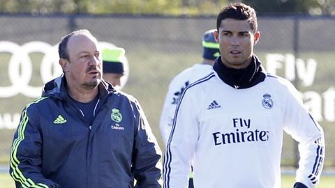 Ronaldo vẫn được HLV Benitez trao quyền sút phạt dù ngày càng sa sút