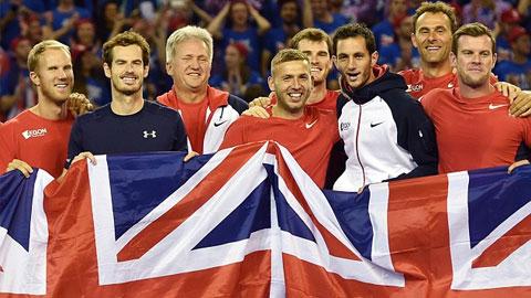 Anh vào chung kết Davis Cup sau 37 năm, còn Bỉ sau tận... 111 năm