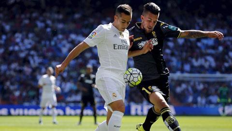 Benitez sai lầm khi để Lucas Vazquez đá chính
