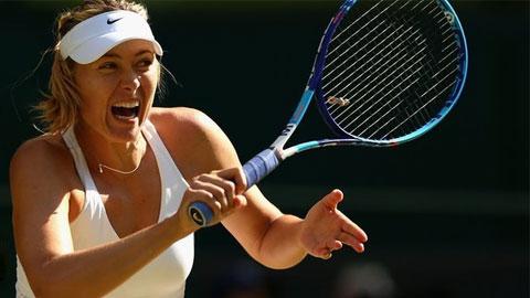 Sharapova trở lại sau 2 tháng điều trị chấn thương
