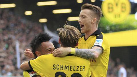 Dortmund có khởi đầu tốt nhất lịch sử: Sắc vàng hủy diệt