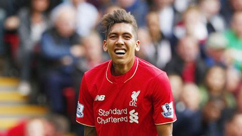 Thể lực là rào cản Firrmino hoà nhập ở Liverpool