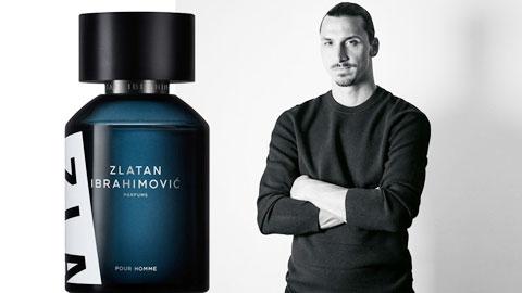 Ibrahimovic mất 2 năm để sản xuất nước hoa