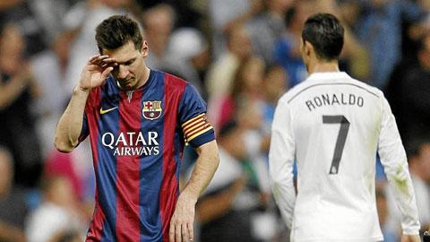 Messi và Ronaldo có đặc quyền đá phạt và 11m dù không hoàn hảo