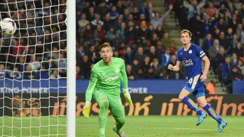 Leicester City chưa có dấu hiệu giảm tốc