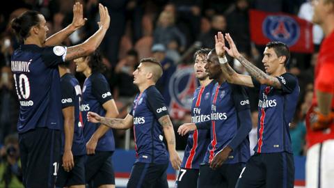 PSG 3-0 Guingamp: Khó cản bước nhà Vua