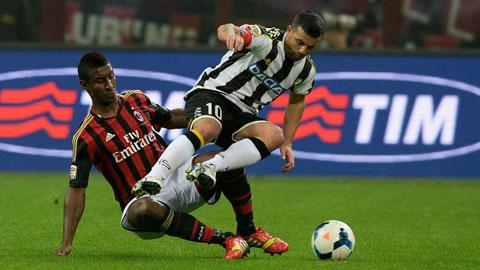 Điểm yếu của Milan vẫn là hàng thủ