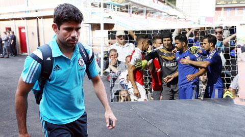 Chelsea mất Diego Costa 3 trận: Gáo nước lạnh vào đà hồi sinh