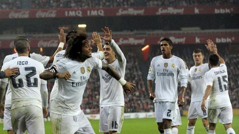 Đội hình dự kiến trận Real Madrid gặp Malaga vòng 6 La Liga