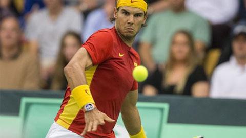 Nadal khiêm tốn đặt mục tiêu nằm trong Top 8 thế giới