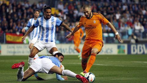 Nhận định Real Madrid vs Malaga, 23h15 ngày 26/9