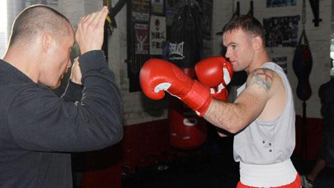 Vì sao Rooney ngày càng mê boxing?