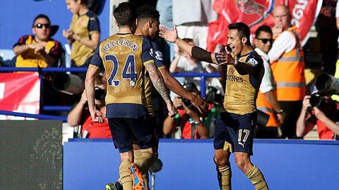 Toàn cảnh bóng đá châu Âu: Sanchez lập hat-trick giúp Arsenal đè bẹp Leicester