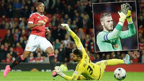 Sir Alex dự đoán De Gea và Martial sẽ giúp M.U vô địch Ngoại hạng Anh