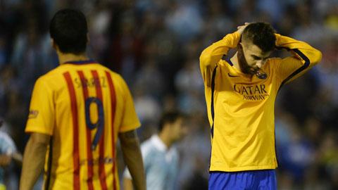 Barca: Hàng công khủng không khỏa lấp được tử huyệt ở hàng thủ