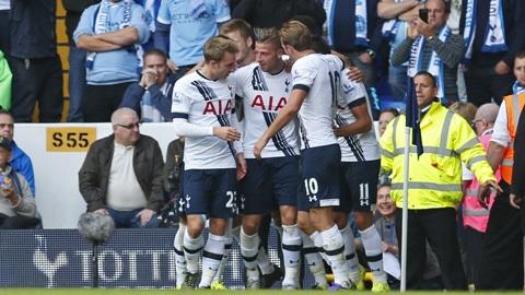 Tottenham 4-1 Man City: Kane ghi bàn trở lại, Man City thua trận thứ 2 liên tiếp