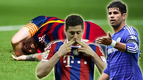 Sự kiện nổi bật trong tuần: Làng bóng đá buồn cho Messi, mừng M.U trở lại ngôi đầu