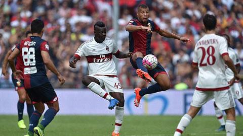 Genoa 1-0 Milan: Milan bất lực khi xa nhà