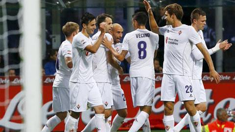 Hạ Inter 4-1, Fiorentina quay lại ngôi đầu Serie A sau 16 năm