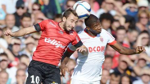 Ligue 1 vòng 8 : Monaco hòa kịch tính, Marseille thua thảm