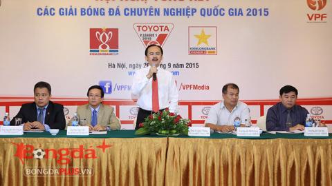 BTC giải và CLB V.League thẳng thắn trao đổi, đánh giá tổng kết mùa giải 2015