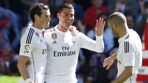 B-B-C sẽ tái hợp ở derby Madrid
